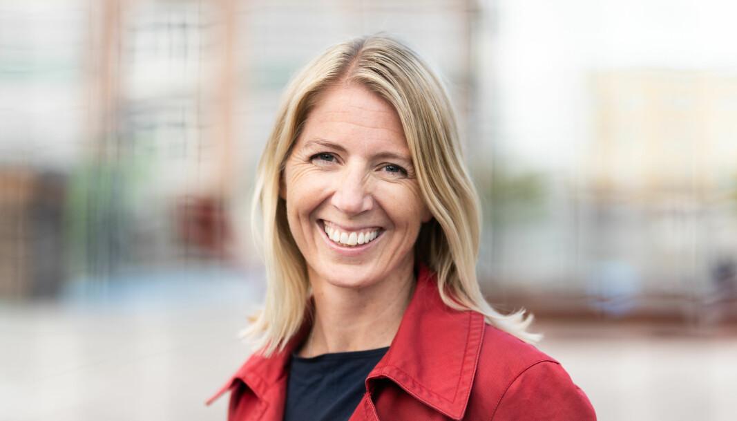 Mina Gerhardsen er generalsekretær i Nasjonalforeningen for folkehelsen. Foto: John Trygve Tollefsen / Nasjonalforeningen for folkehelsen