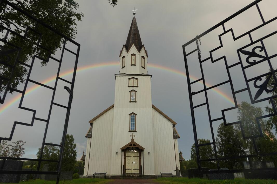 Arkivfoto: Rindal kirke