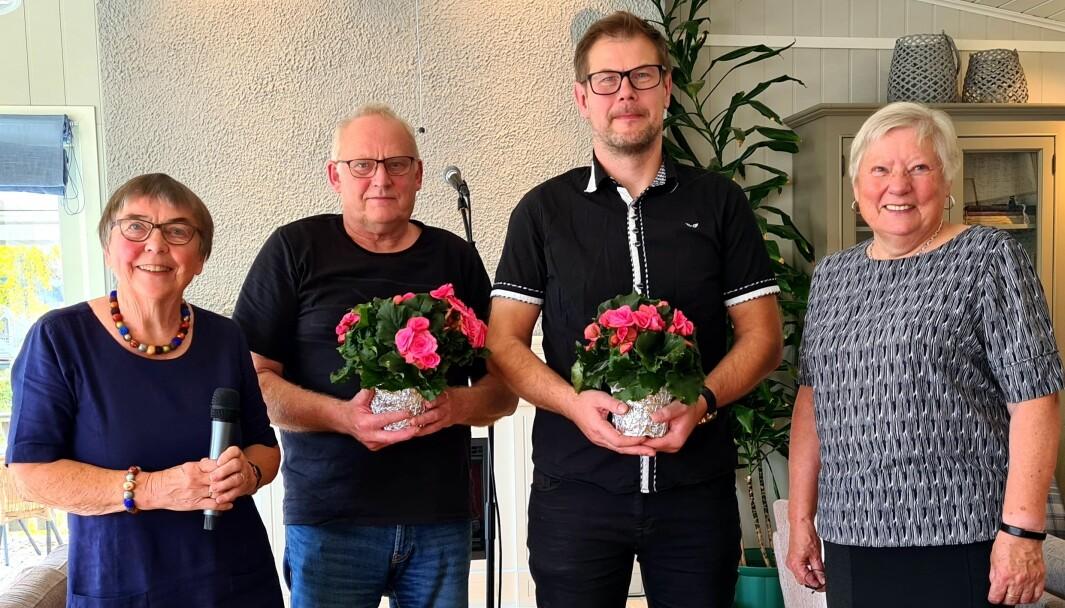 Helene Marie Nergård, Magne Løset, Karstein Mauset og Ragnhild Stavne Bolme