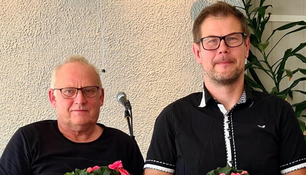Magne Løset (t.v.) og Karstein Mauset.
