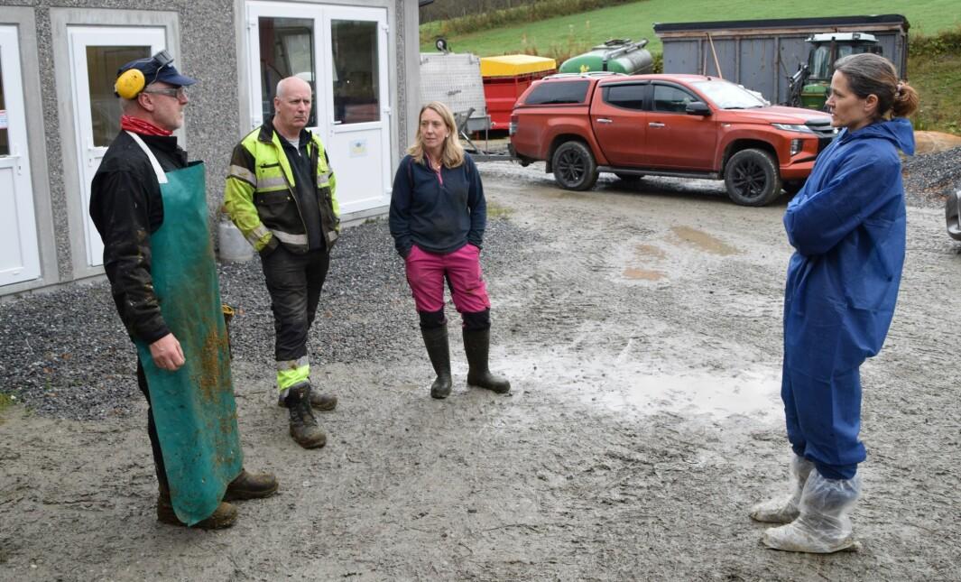God klauvhelse er viktig, det er klauvskjærer Trond Løfaldli, gardbrukerne Inge Christensen og Kristin Ingdal og forsker Marianne Gilhuus enige om.