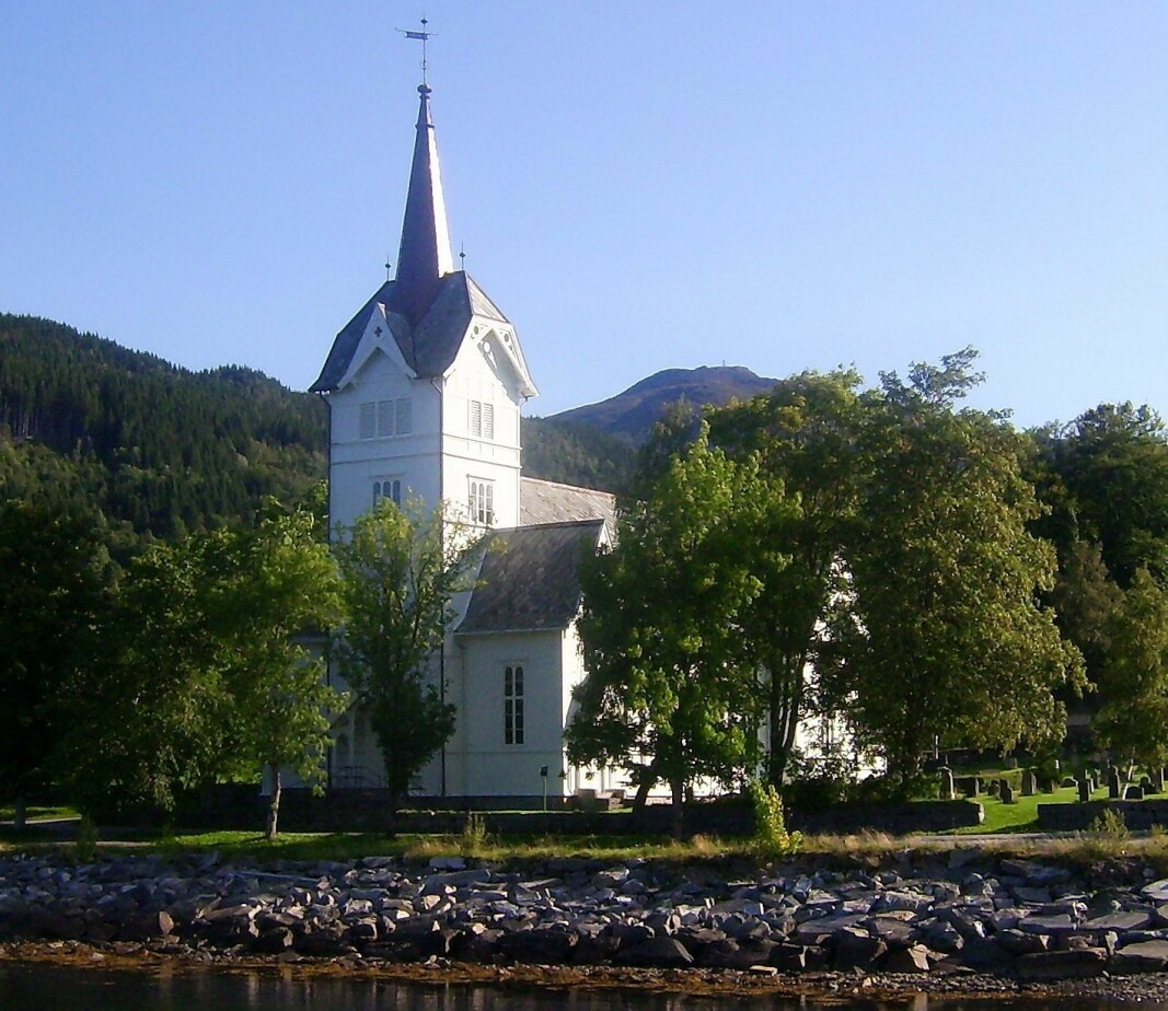 Stangvik kyrkje.