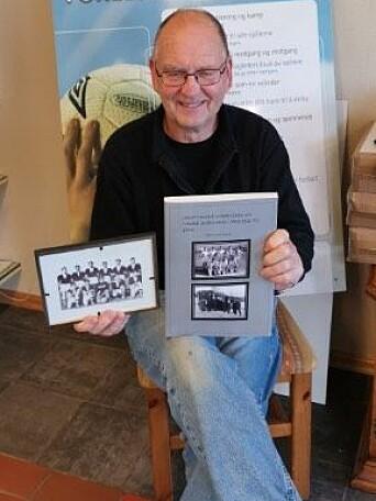 Kjell Smenes har gitt ut bok om idretten på Nordsiden i Nedre Surnadal 1921-1966