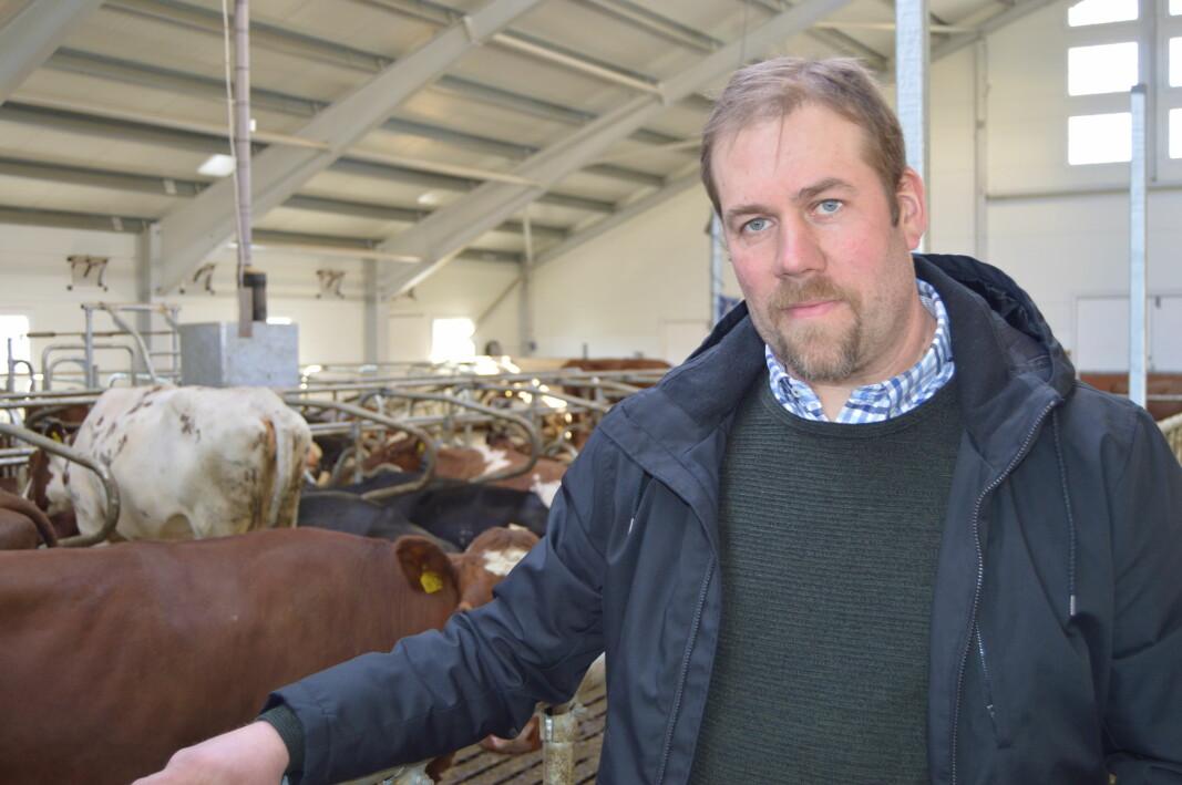 - Statens tilbud viser at regjeringa ikke tar inn over seg alvoret i den økonomiske situasjonen i landbruket, sier fylkesleder i Møre og Romsdal Bondelag Konrad Kongshaug