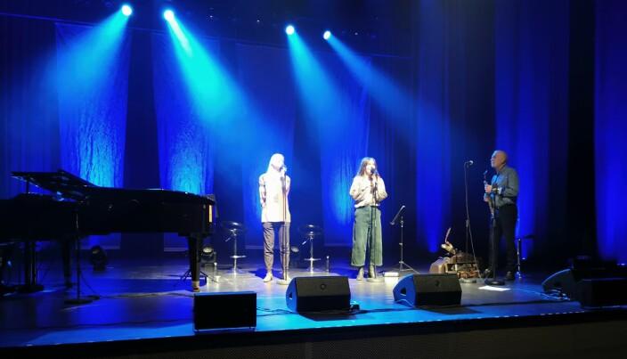 Sara Fellman, Julie Støp Husby og John Pål Inderberg