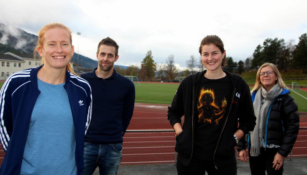 Ingvild Berg, Jens Nervik, Hege Fiske og Sylvia Stokke.