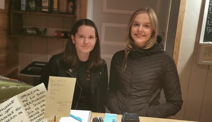 Ingrid Gabriella Grimsmo og Kaja Sofie Kvande