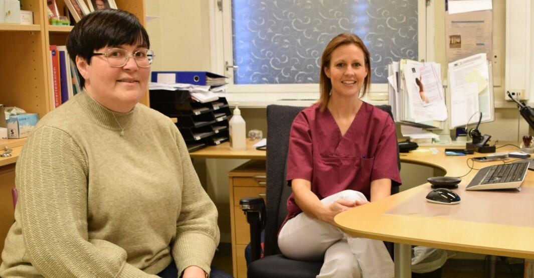 Ordfører Vibeke Langli og kommuneoverlege Mari Wold hadde noen hektiske timer, før de fikk beskjed om at koronatestene fra Rindal ikke var positive likevel.