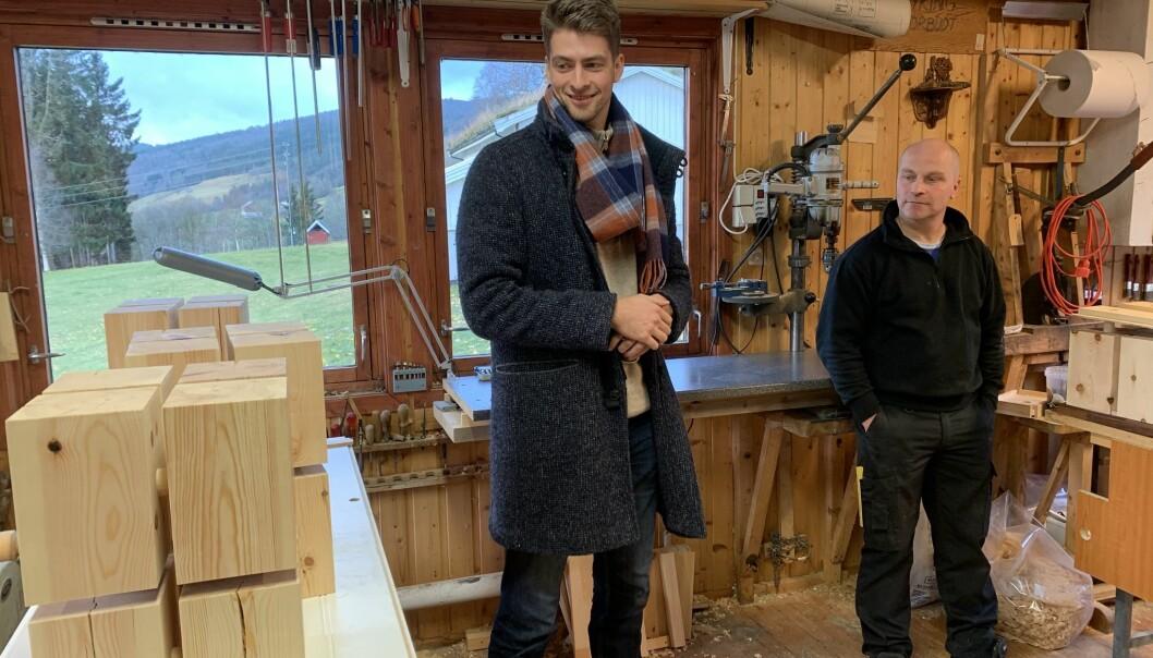 Både Olav Engelstad (f.v.) og Leif Magne Røen får ros, både fra hverandre og fra resten av deltakerne i prosjektet.