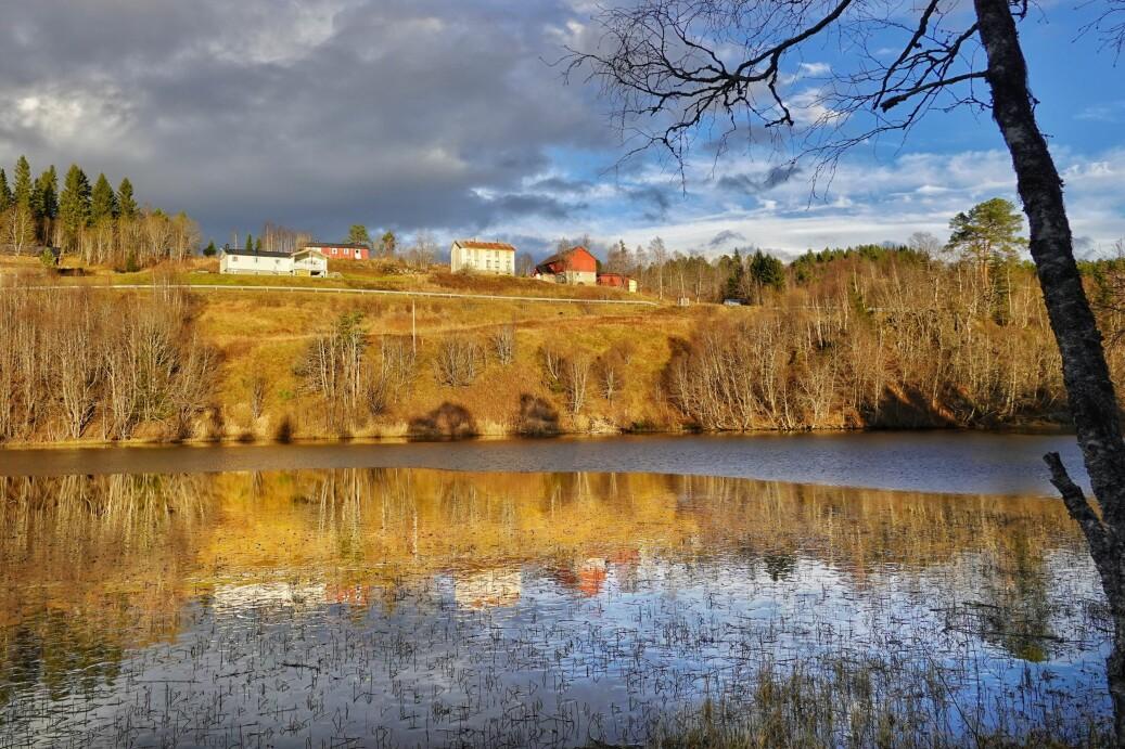 Høgåsvatnet i Rørdalen.