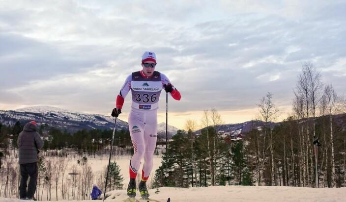 Gjermund Løfald under Rindalrennet 2019.