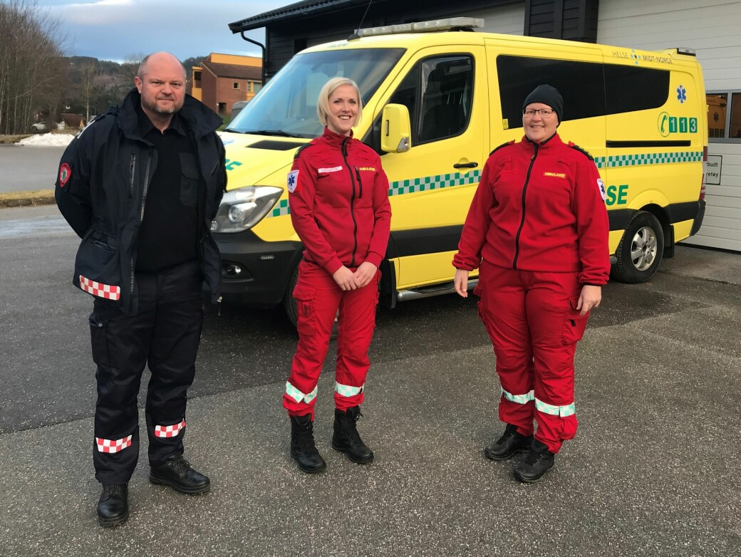 Tor Arne Moen, Linda Kvande og Bettina Helgetun