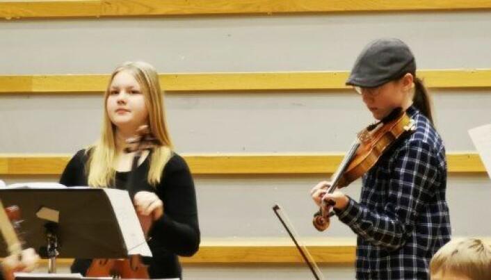 Maria Otalova og Andreas Vaagland . Begge fra Surnadal og Rindal kulturskole