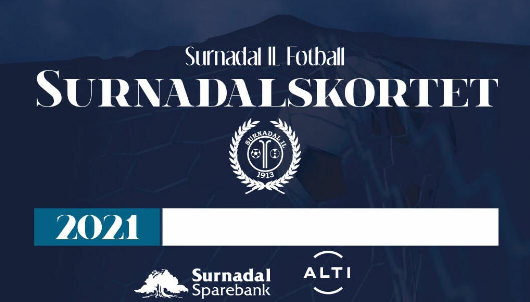 Framsida av Surnadalskortet 2021.