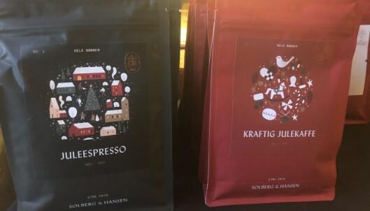 Ulike typer kaffe fra Solberg og Hansen
