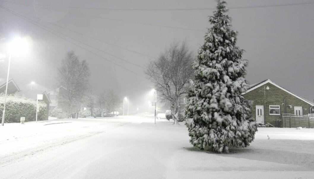 Romjulsstorm er ventet 3. juledag