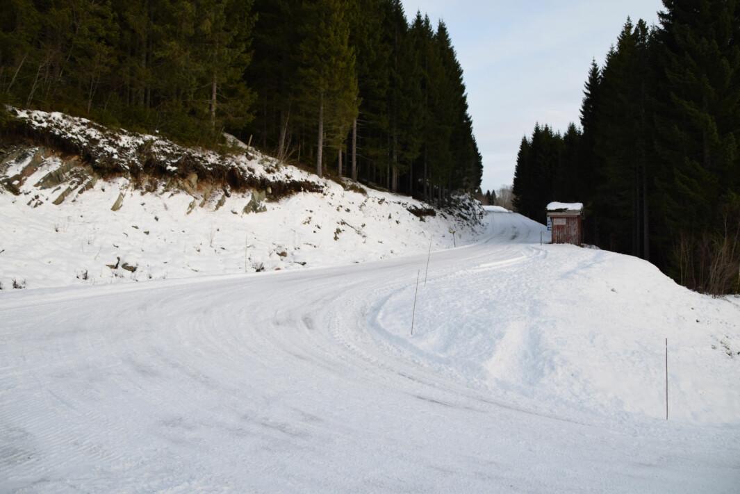 Tørset - Almbergsvegen ved Almberg