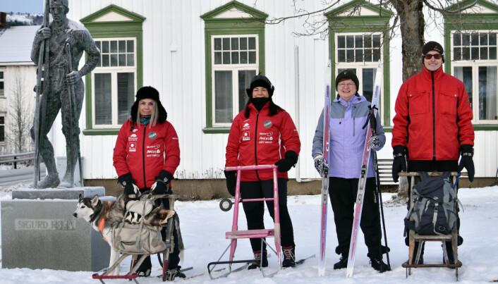 Surnadalinger på besøk i Trøndelag