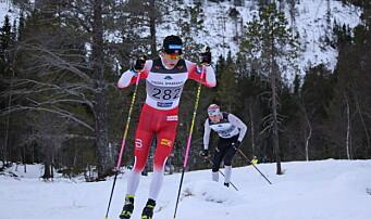 Johannes Høsflot Klæbo, her under Rindalsrennet 2020, vant både fredagens sprint og søndagens tremil under Norgescuphelga på Lygna.