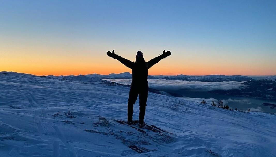 #vinteren2021 #solnedgang