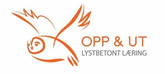 Opp & Ut Logo opp og ut opp&ut oppogut
