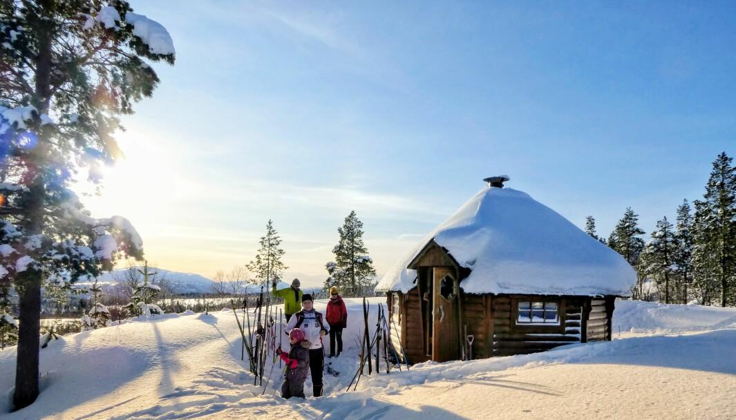 Månedens turmål i januar er Skihytta i Furuhaugmarka. Skihytta ligger åpent og fint til med lang solgang og utsikt til Trollheimen.