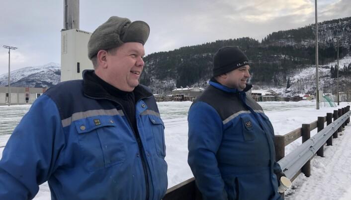Ove Halgunset og Morten Holte er to av deltakerne på kurset.