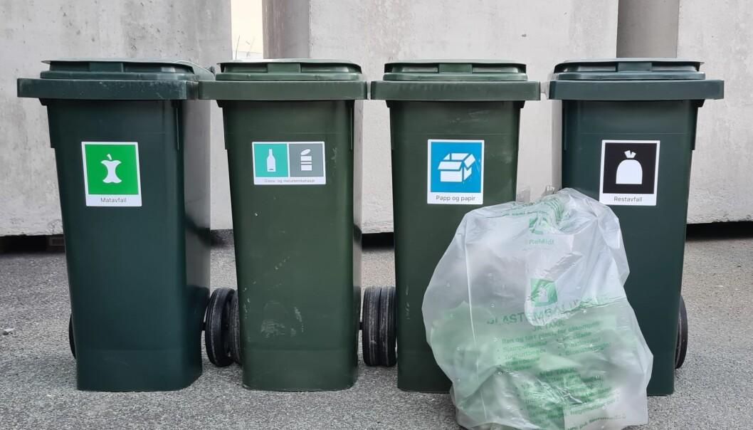 Nye søppeldunker