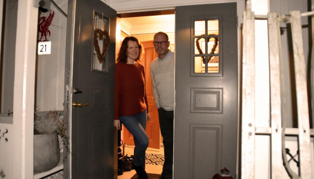 Hos Rita og Mons står døren åpen