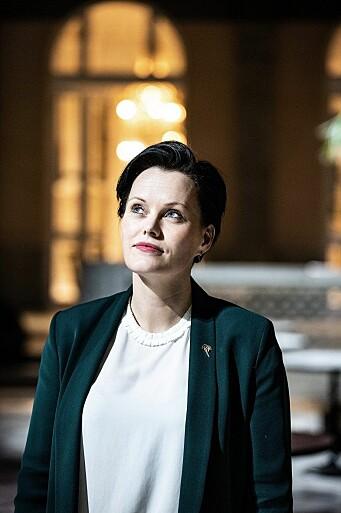 Ida Elisabeth Dønheim i restauranten Palmehaven.