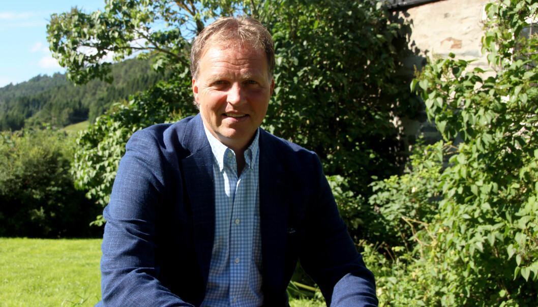 Administerende banksjjef Allan Troelsen.
