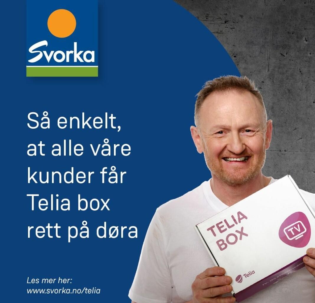 Telia box fra Svorka