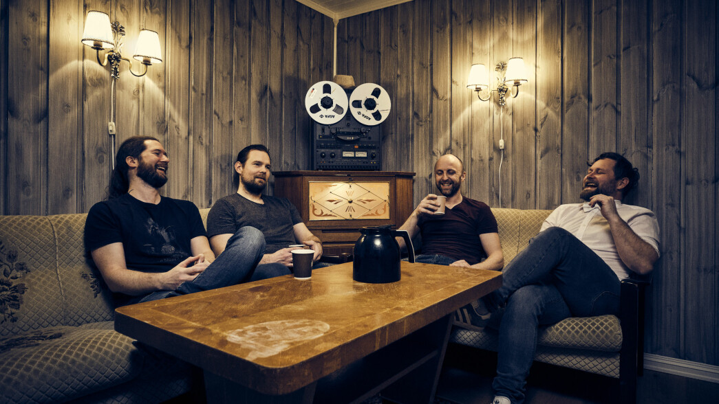 Frank Spoon Botten (f.v.), Ola Langli, Torbjørn Kvande og Jon Landsem utgjør sPoonman.
