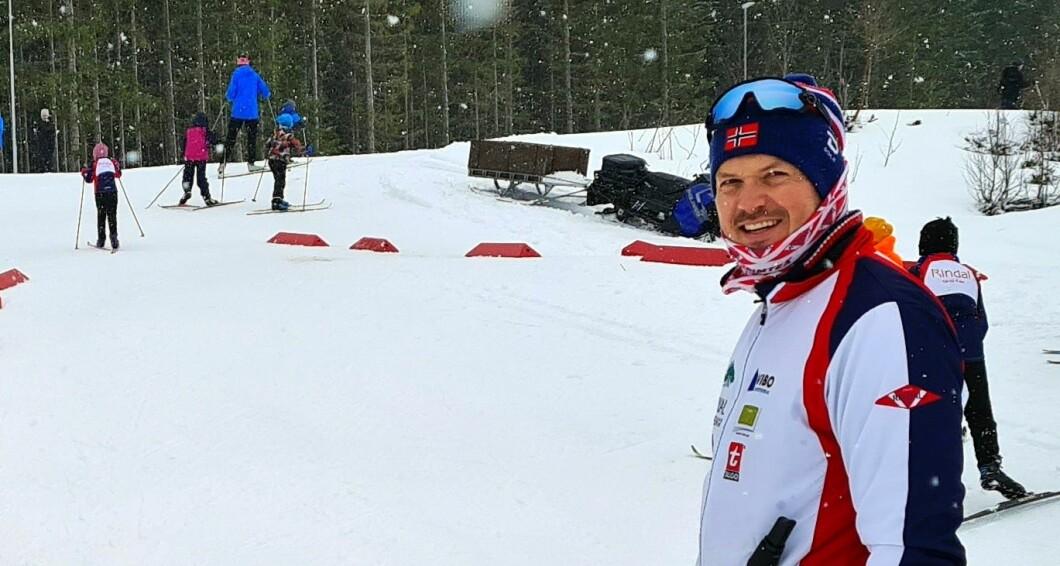 Pål Sande frå skistyret i Rindal IL