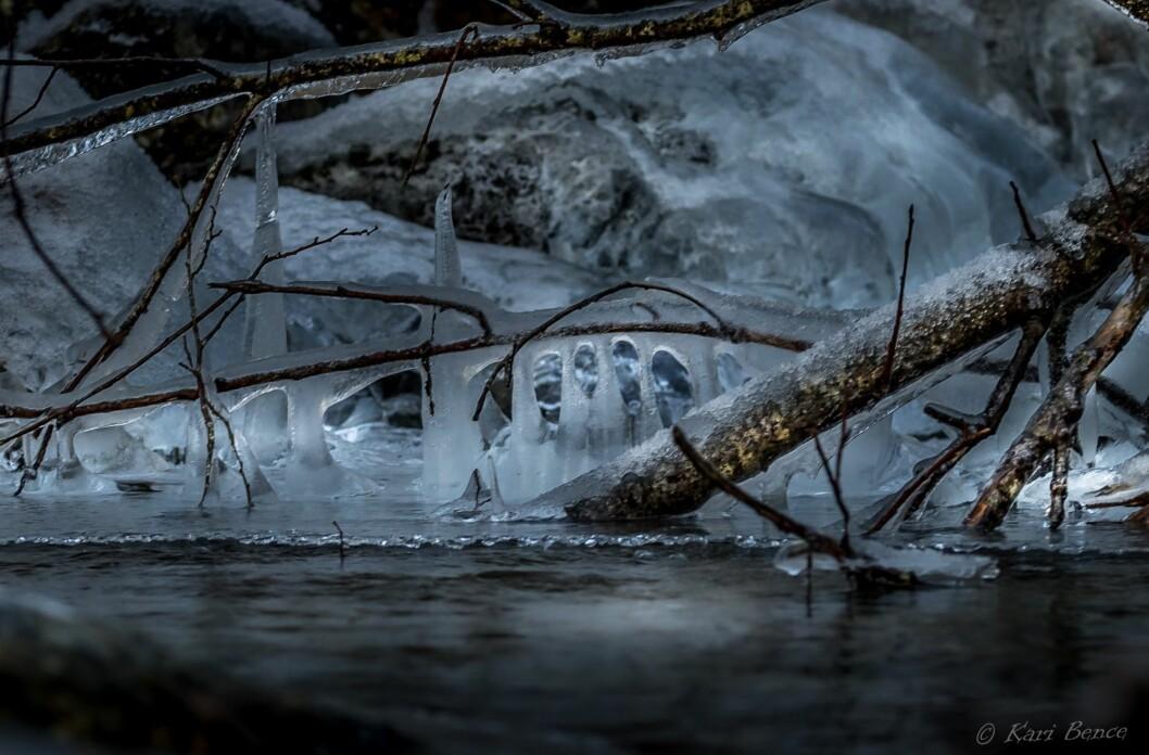 En katedral av is og lys