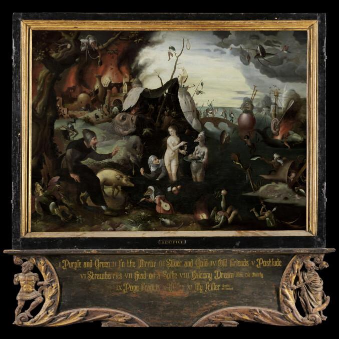 """Albumet """"Balcony Dream"""" viser tydeleg Hans Olav Settem sin fascinasjon for gamle kulturar og kunsttradisjonar."""