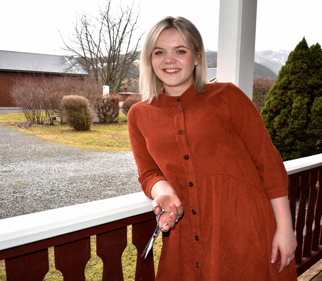 Elinor Sæterøy starter Sæterøy Frisør