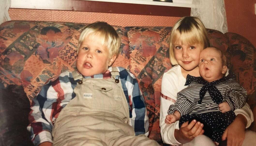 Søskenkjærlighet: Bård, Helle og Gaute