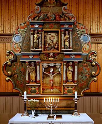 Altartavle, Stangvik kyrkje