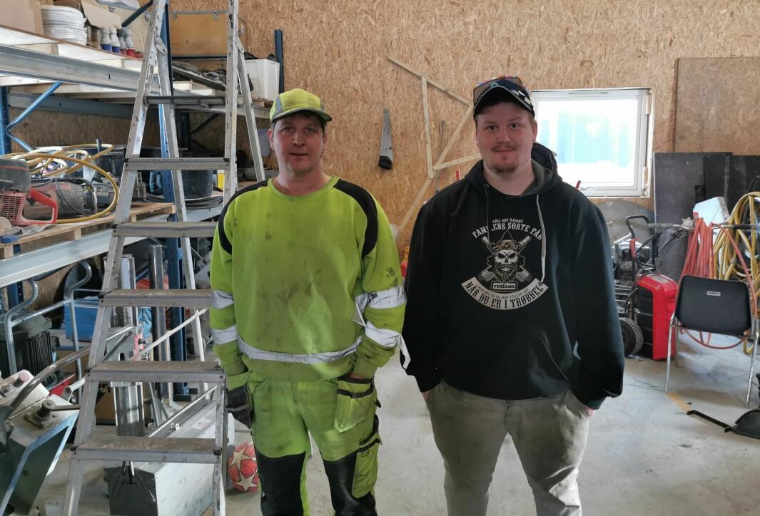 Ronny og Lasse Kvande