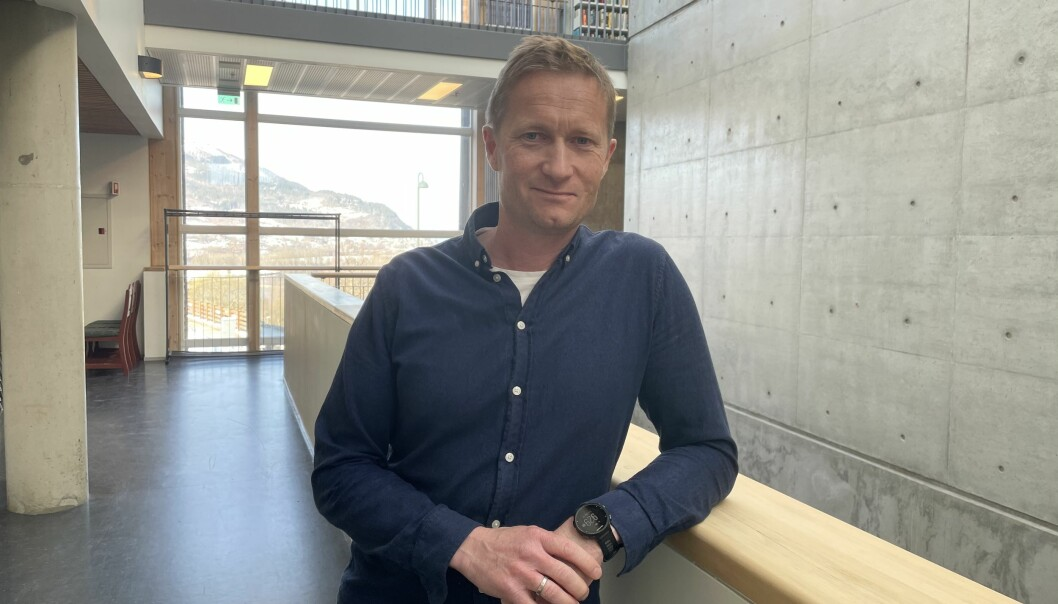 Avdelingsleiar Anders Grimsmo i Consto Midt-Norge, avdeling Surnadal.