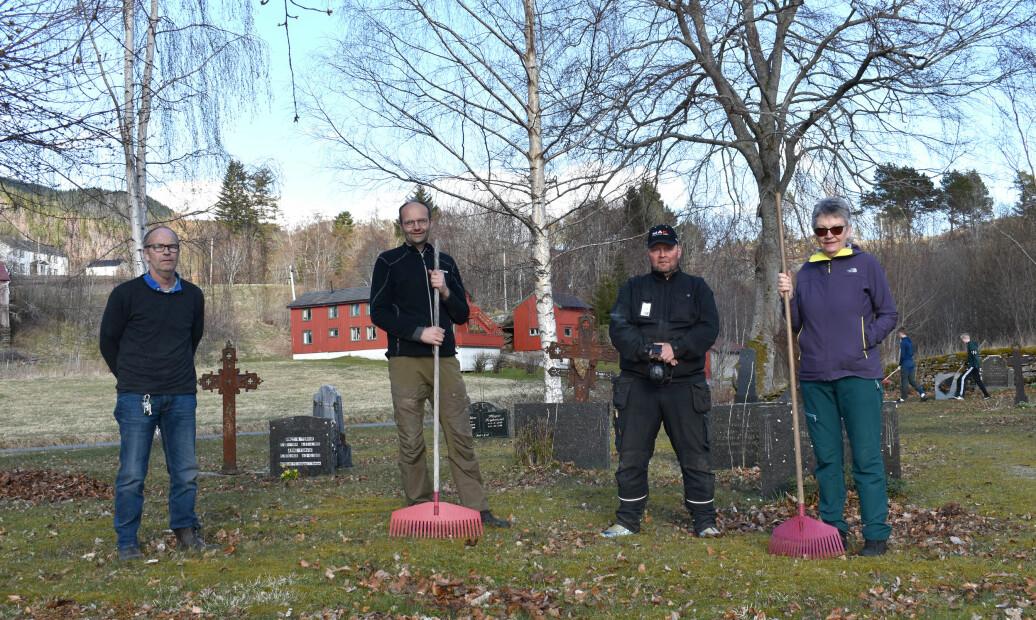Bjarne Røen, Per Arne Hyldbakk, Jan Brødreskift og Rannveig Brøske