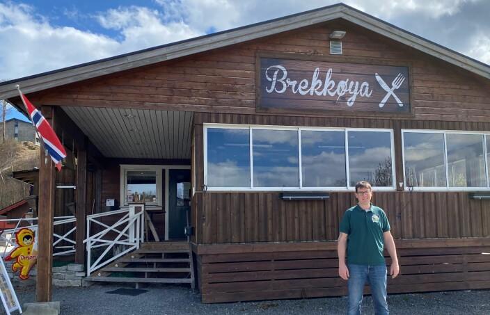 Gerald Grewe ved Brekkøya camping går enda en usikker sesong i møte, men håper på det beste.