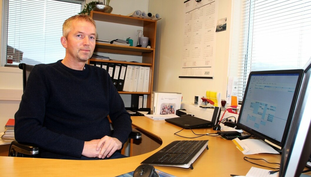 Styreleder Lars Inge Kvande.