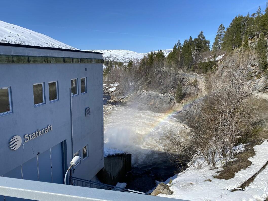 Gråsjø kraftverk.