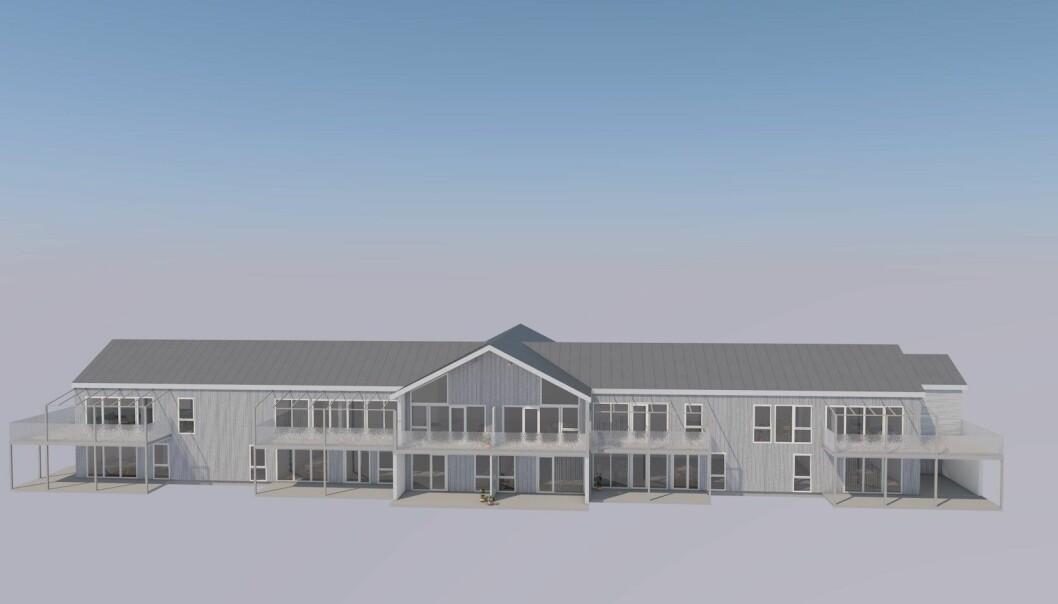 Skisse, Stangvik Boligutvikling/arkitekt Georg Øye