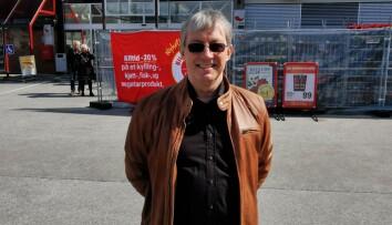 Dirigent i Surnadal Skolekorps Torgeir Andresen
