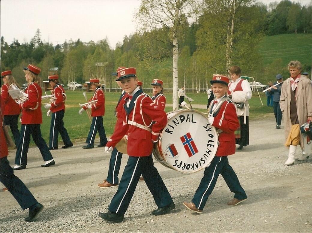 17. mai i Rindal i 1990