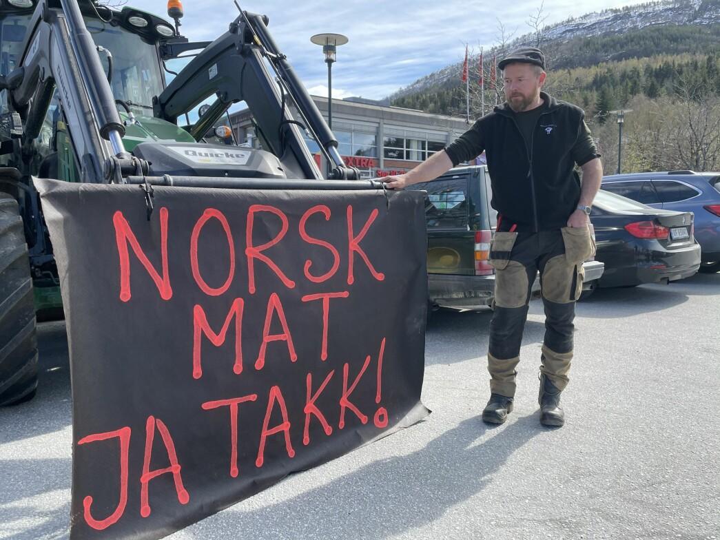 Oddvar Mikkelsen sitt bodskap er ikkje til å ta feil av.