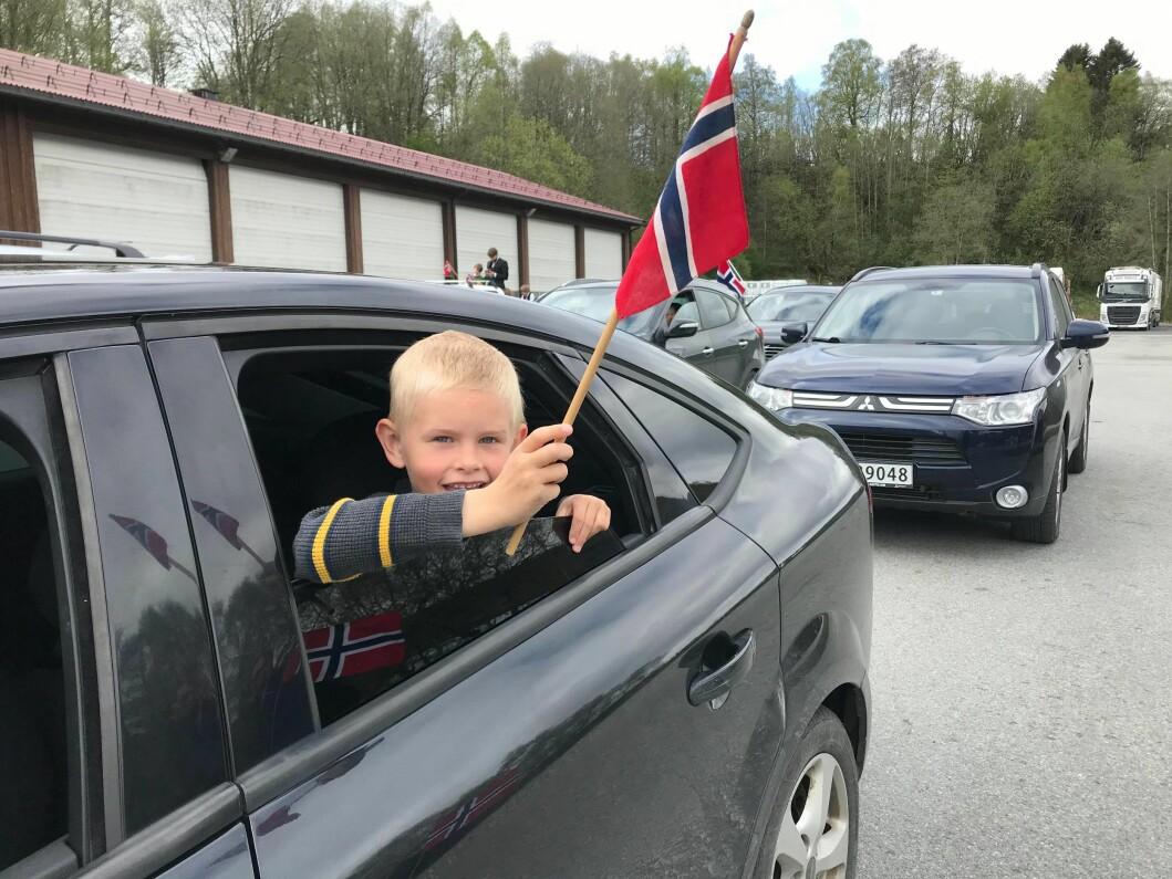 Nikolai Lindvåg Sande på Røv Mølle
